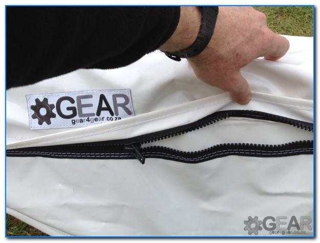 Surfski PVC Bag chunky YKK zip - Surk-Ski Cover - SGL - PVC