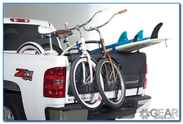 bakkie tailgate bike rack 2 - Bakkie Tail Gate Bike Rack