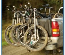 bakkie tailgate bike rack 228x192 - Gear to transport your Cycling, Paddling, Fishing and other Gear safely