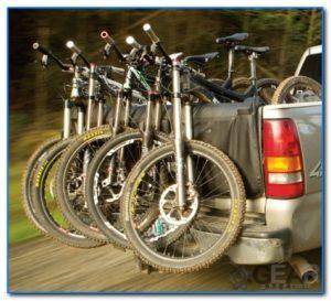 Bakkie Tail Gate Bike Rack