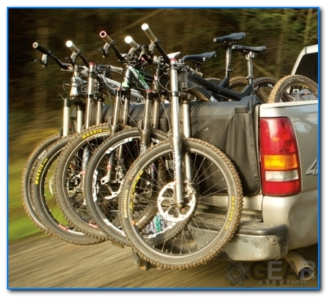 bakkie tailgate bike rack - Bakkie Tail Gate Bike Rack