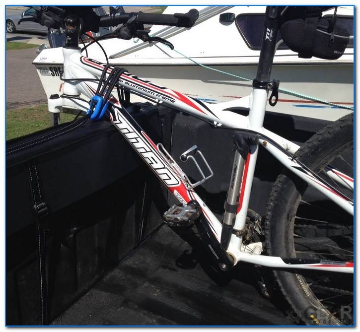 bakkie tailgate bikerack 5 - Bakkie Tail Gate Bike Rack