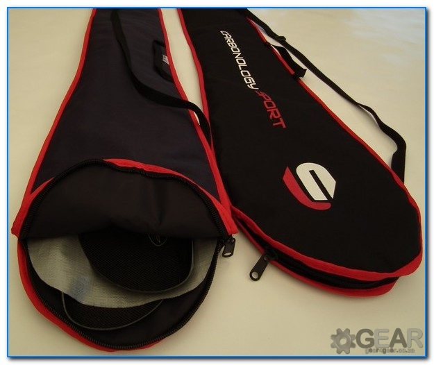 gear split paddle bag open - Paddle Bag - Split - padded - gear4gear